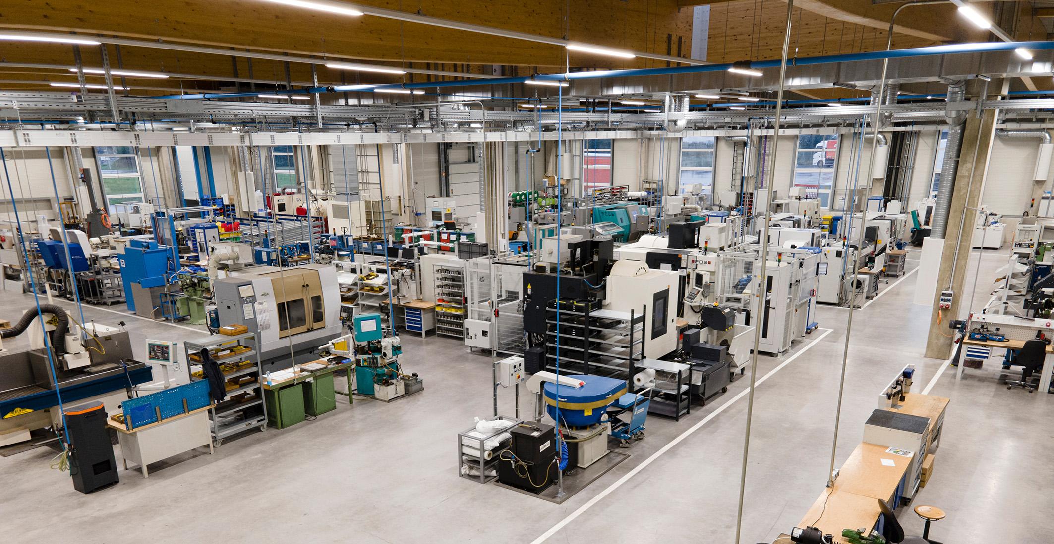 Kapazitäten verdoppelt und Platz für neue Ideen<br/>Erfolgreicher Umzug in das neue Firmengebäude in Aldingen