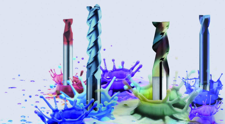 Werkzeugspezialisten für Alu und Stahl bekennen Farbe