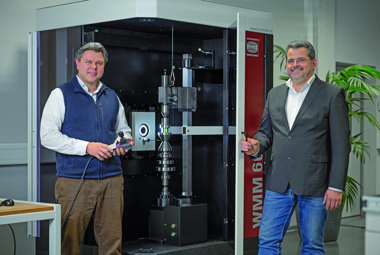 Schneider Messtechnik jetzt mit Doppelspitze